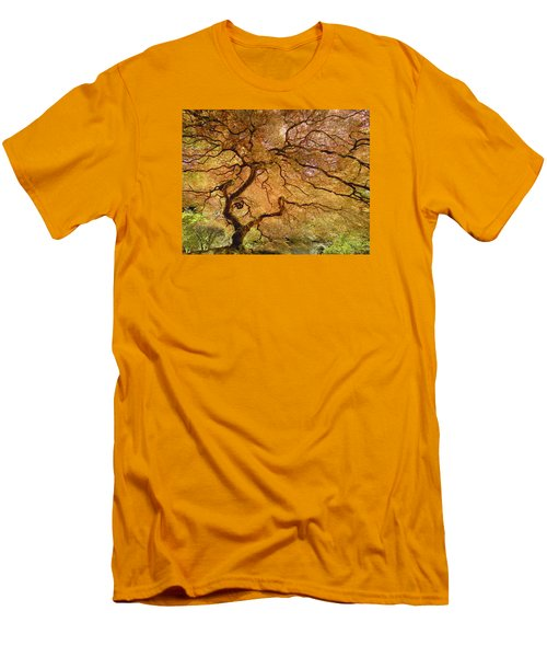 Brilliant Japanese Maple Men's T-Shirt (Athletic Fit)