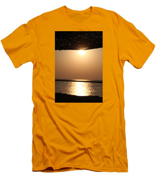 Men's T-Shirt (Slim Fit) featuring the photograph Caffe Time by Jez C Self