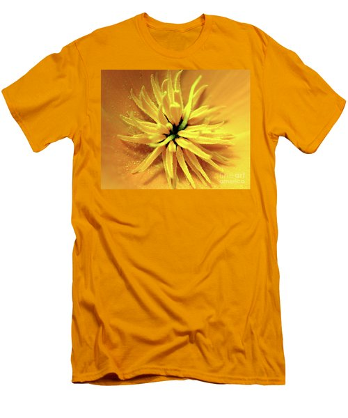 Californian Poppy Macro Men's T-Shirt (Athletic Fit)