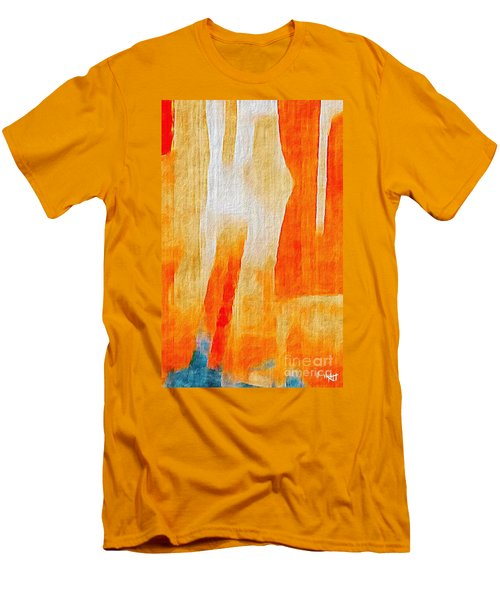 Men's T-Shirt (Slim Fit) featuring the photograph Canyon by William Wyckoff
