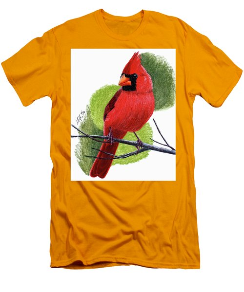 Cardinal1 Men's T-Shirt (Slim Fit) by Joseph Ogle