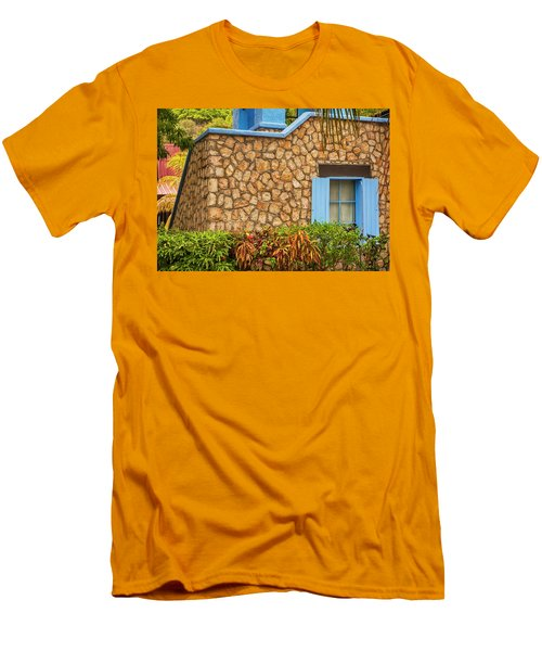 Caribbean Window Men's T-Shirt (Athletic Fit)