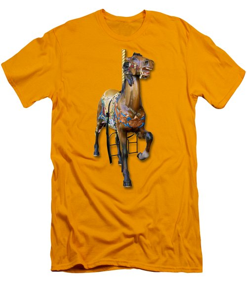 Carousel Horse Men's T-Shirt (Athletic Fit)