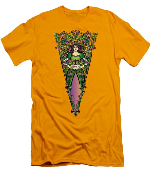 Celtic Forest Fairy - Wealth Men's T-Shirt (Athletic Fit)