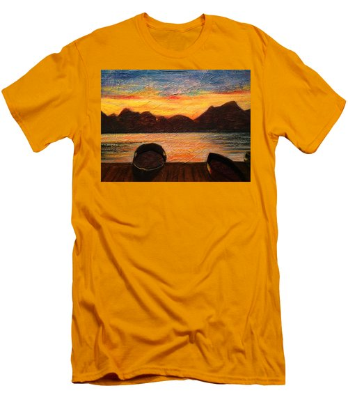 Celtic Sunset Men's T-Shirt (Athletic Fit)