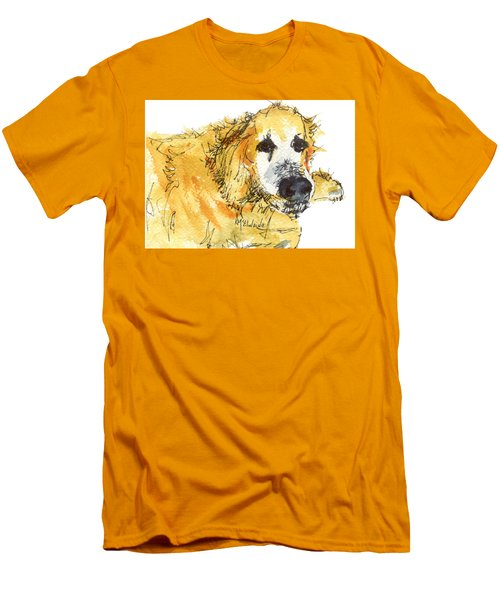 Cinders Chief Dog Men's T-Shirt (Athletic Fit)
