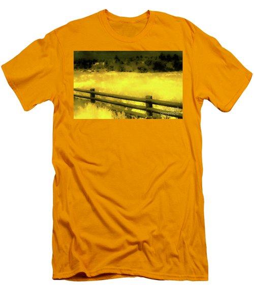 Ciquique Pueblo Meadow 2 Men's T-Shirt (Athletic Fit)