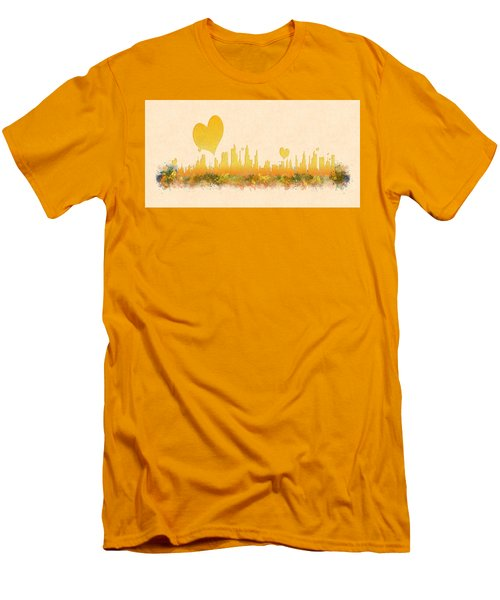 City Of Love Men's T-Shirt (Athletic Fit)