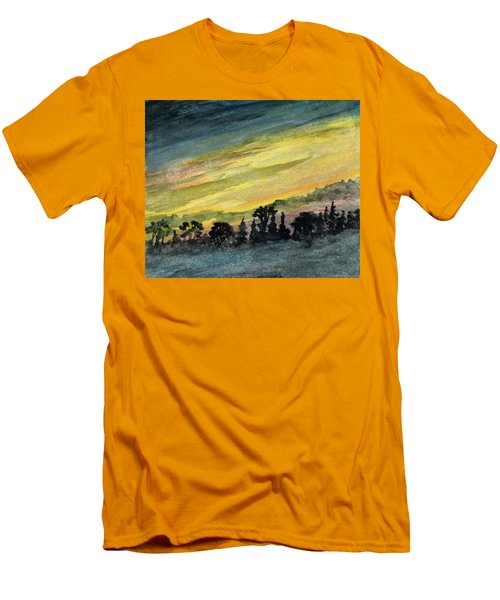 Clearing Storm Men's T-Shirt (Athletic Fit)