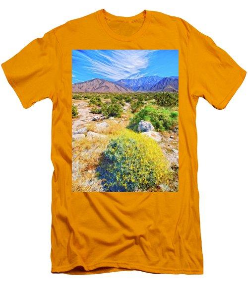 Coachella Spring Men's T-Shirt (Athletic Fit)