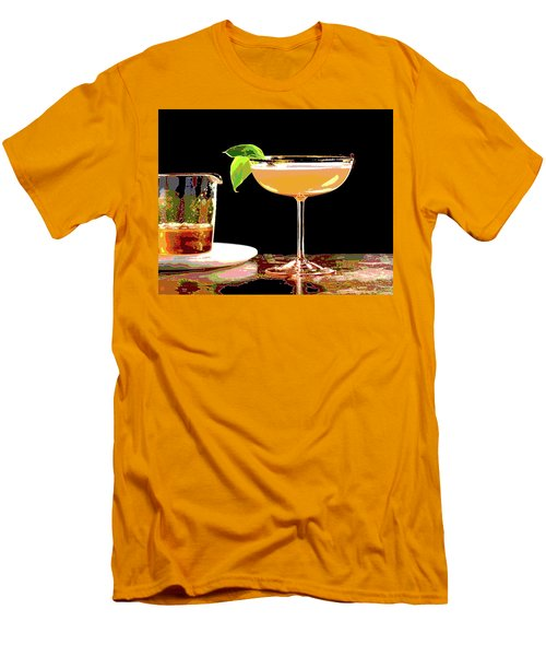 Cocktail And Dreams Men's T-Shirt (Slim Fit) by Charles Shoup