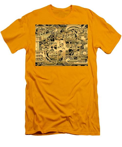 Complexity And Complications - Clockwork Gold Men's T-Shirt (Athletic Fit)