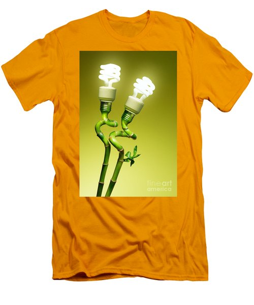 Conceptual Lamps Men's T-Shirt (Athletic Fit)