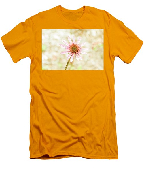 Cone Flower Men's T-Shirt (Slim Fit) by Jay Stockhaus