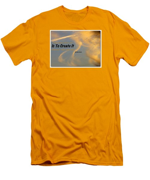 Men's T-Shirt (Slim Fit) featuring the photograph Create Greatness by David Norman