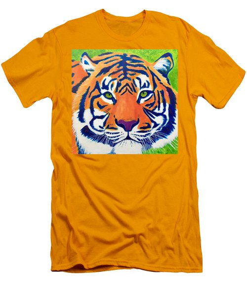 Critically Endangered Sumatran Tiger Men's T-Shirt (Athletic Fit)