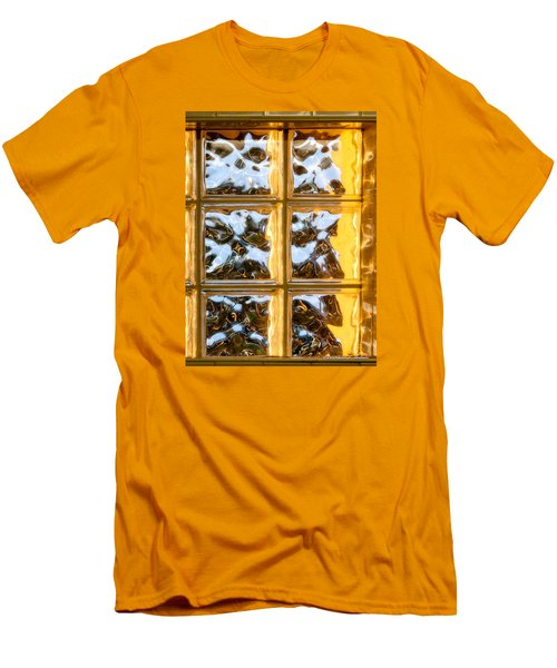 Men's T-Shirt (Slim Fit) featuring the photograph Cubed Sunset by Christopher Holmes