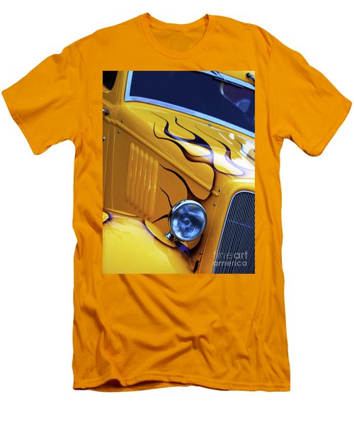Men's T-Shirt (Slim Fit) featuring the photograph Custom 1934  Ford Artwork by Baggieoldboy