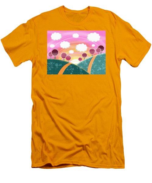 Cuteness Overload Men's T-Shirt (Slim Fit) by Shawna Rowe