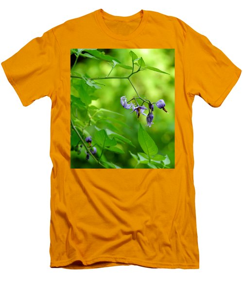 Men's T-Shirt (Slim Fit) featuring the photograph Dainty by Betty-Anne McDonald