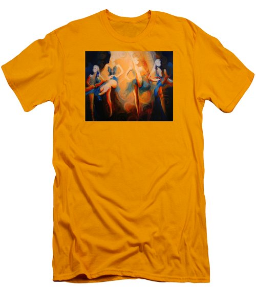 Dance Of The Sidheog Men's T-Shirt (Slim Fit) by Georg Douglas