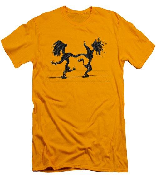 Dancing Couple 8 Men's T-Shirt (Athletic Fit)