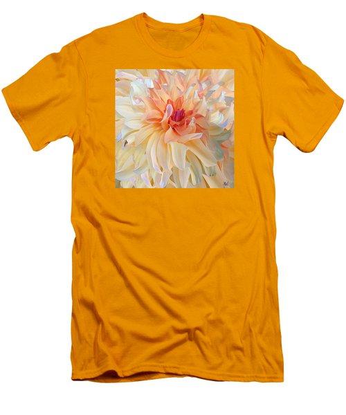 Dancing Dahlia Men's T-Shirt (Slim Fit) by Michele Avanti