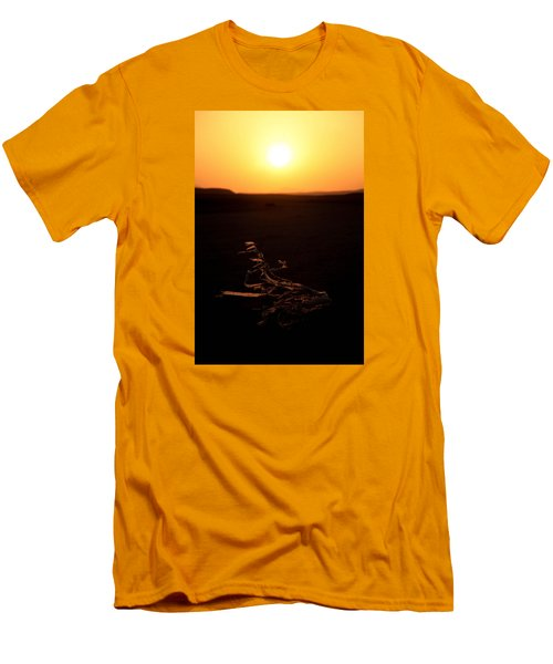 Men's T-Shirt (Slim Fit) featuring the photograph dark in the U K by Jez C Self