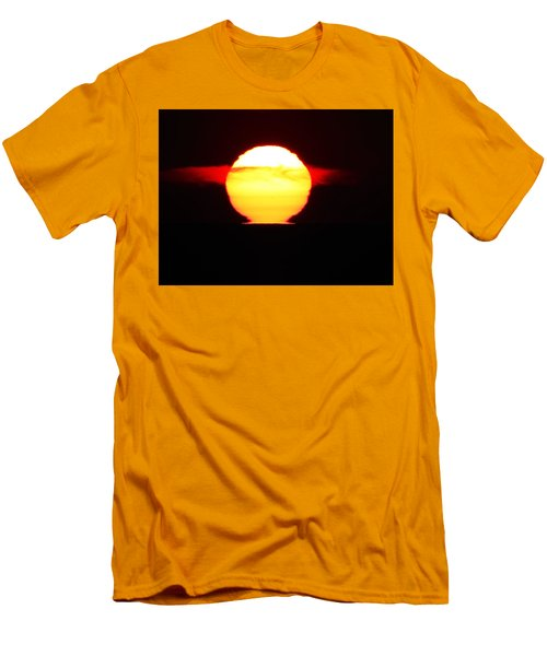 Dark Sunrise Men's T-Shirt (Slim Fit) by Kathy Long