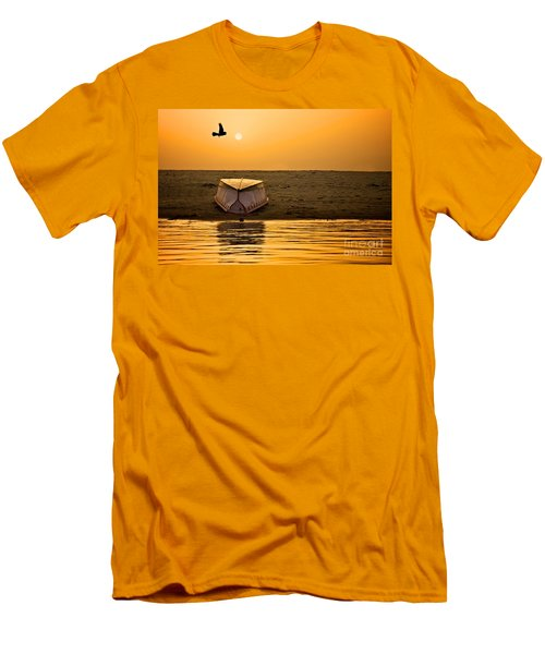 Dawn On The Ganga Men's T-Shirt (Athletic Fit)