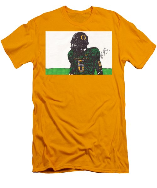 De'anthony Thomas 2 Men's T-Shirt (Slim Fit) by Jeremiah Colley