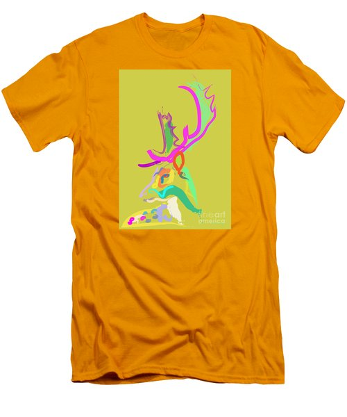Dear Deer Men's T-Shirt (Athletic Fit)