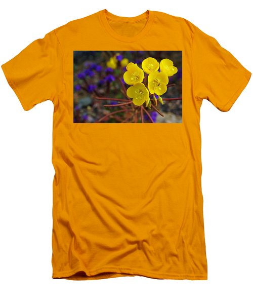 Death Valley Superbloom 206 Men's T-Shirt (Slim Fit) by Daniel Woodrum