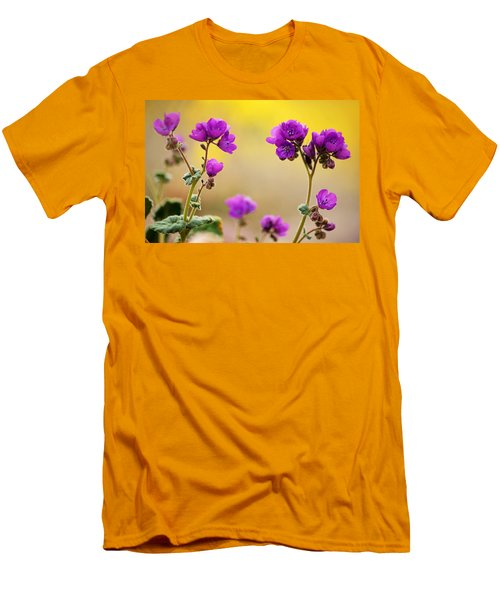 Death Valley Superbloom 506 Men's T-Shirt (Slim Fit) by Daniel Woodrum