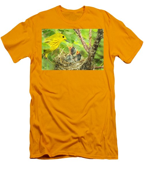 Dinner At The Warblers Men's T-Shirt (Athletic Fit)