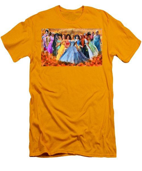 Disney's Princesses Men's T-Shirt (Athletic Fit)