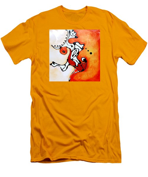 Divided Sunset Men's T-Shirt (Athletic Fit)