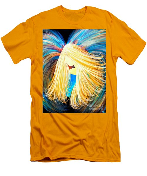Divine Angel Men's T-Shirt (Athletic Fit)