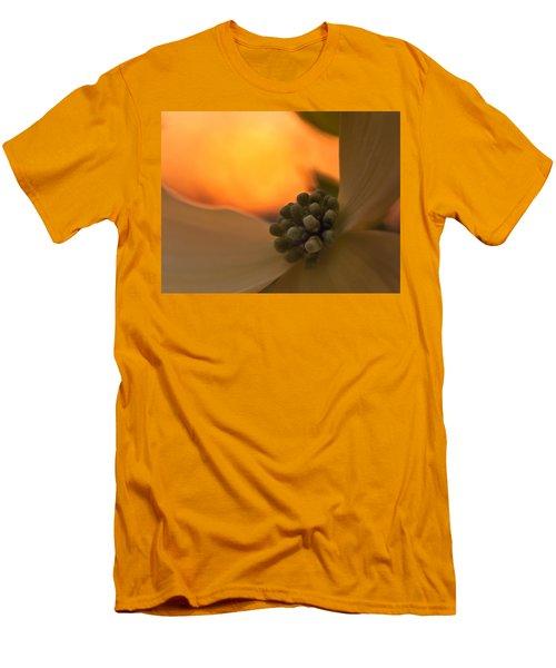 Dogwood Bloom Men's T-Shirt (Slim Fit) by Craig Szymanski