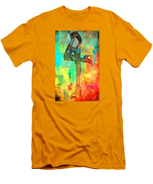 Down Hoser Men's T-Shirt (Slim Fit) by Greg Sharpe