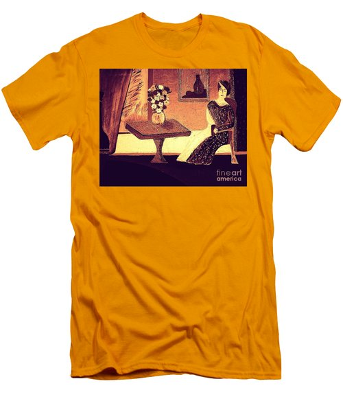 Dreamin In Lyon By Bill O'connor Men's T-Shirt (Slim Fit) by Bill OConnor