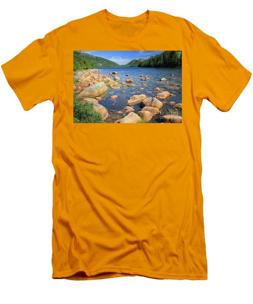 Dreaming Of Acadia Men's T-Shirt (Athletic Fit)