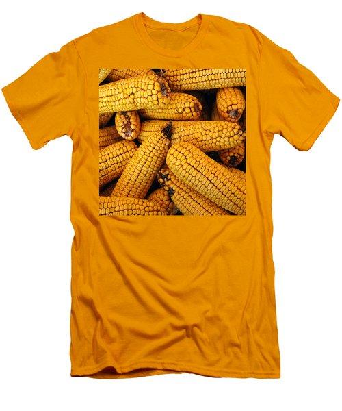 Dried Corn Cobs Men's T-Shirt (Athletic Fit)