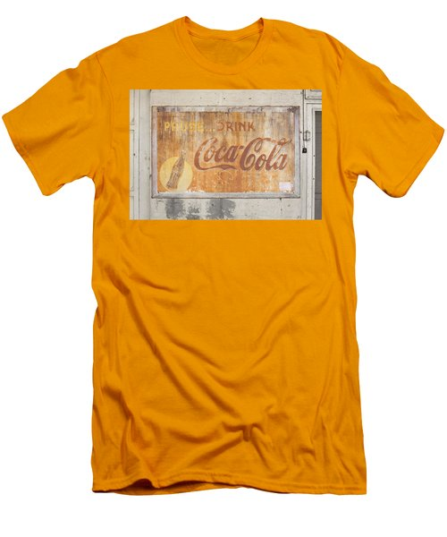 Men's T-Shirt (Slim Fit) featuring the photograph Drink Coca Cola by Mark Greenberg