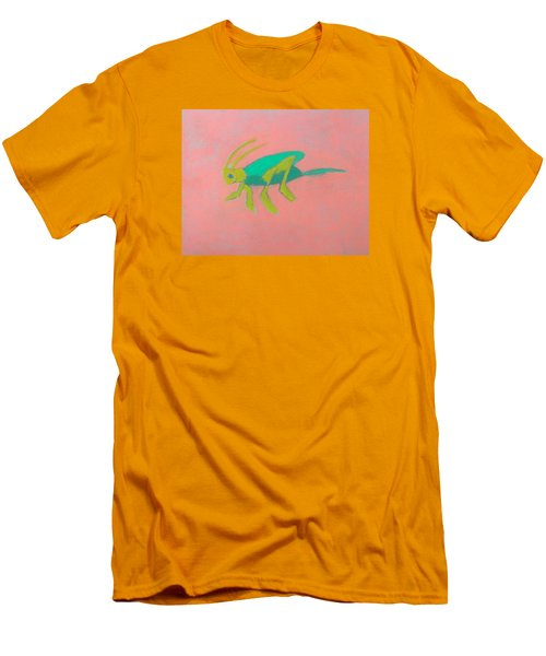 Eager Grasshopper Men's T-Shirt (Slim Fit) by Artists With Autism Inc