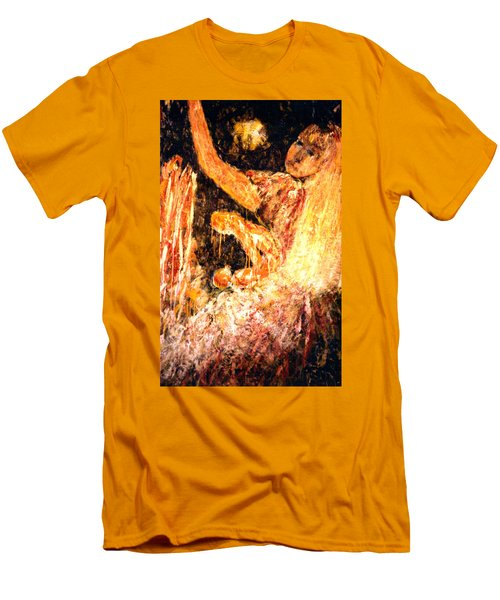 Earthy Goddess Men's T-Shirt (Athletic Fit)