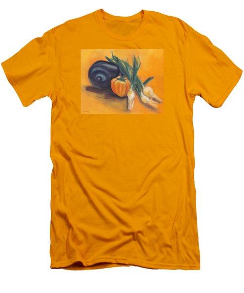 Eat Your Vegetables Men's T-Shirt (Athletic Fit)