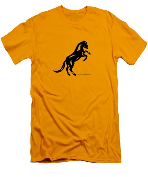 Emma II - Abstract Horse Men's T-Shirt (Athletic Fit)