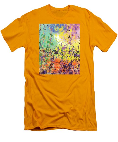 Men's T-Shirt (Slim Fit) featuring the digital art End Of Summer 2015 by Trilby Cole
