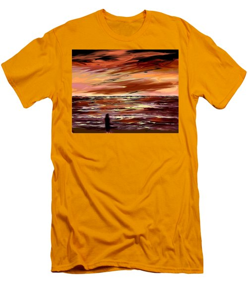 Endless Men's T-Shirt (Slim Fit) by Desline Vitto